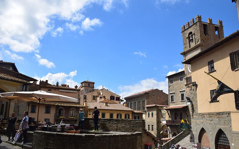 cortona car tour from florence