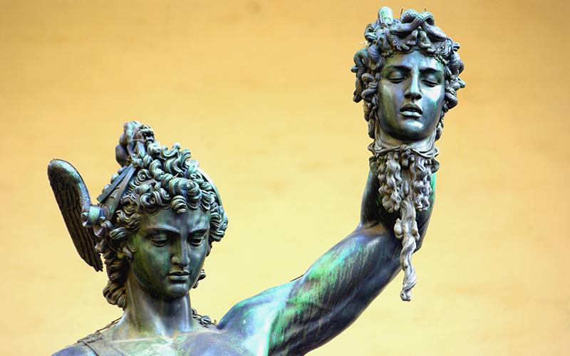 florence walking tours, statue of perseus