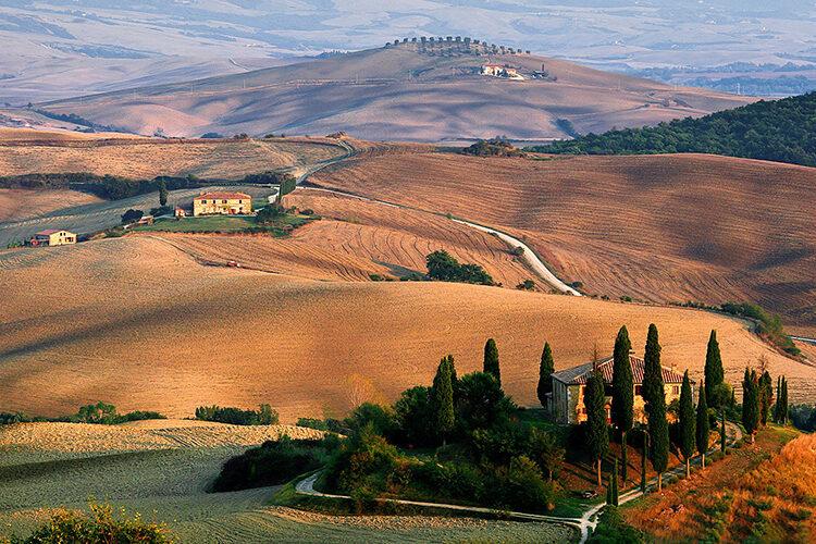 montalcino and pienza car tour